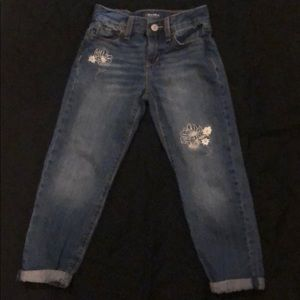 Girls ankle length jeans